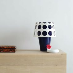 Beautiful lamp on designer box website.