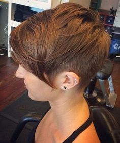 Beautiful Short Shaggy Haircuts