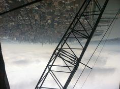 View from Tower 1 Photo copyright © Marcus Robinson #worldtradecenter #newyork #rebuilding #rebuildingmovie #tradecenter #freedomtower #Tower1 #building