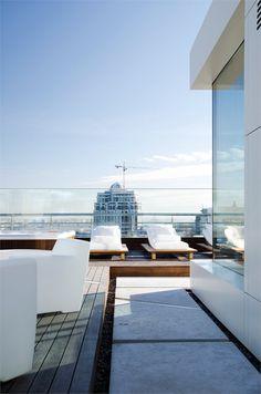 Rooftop Garten, Wohnungsplanung, Wohnungseinrichtung, Zeitgenössische  Architektur, Erstaunliche Architektur, Luxus Penthaus,