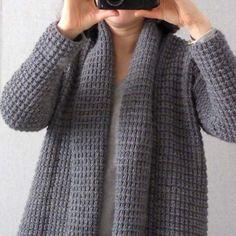 Ravelry  Cardigan Cocooning pattern by Petite Sittelle Modele Tricot  Gratuit Femme, Modele Tricot Femme c46c358c20f