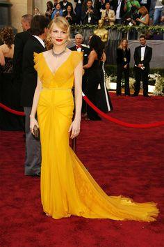 2006 - HarpersBAZAAR.com Michelle Williams Oscar dress