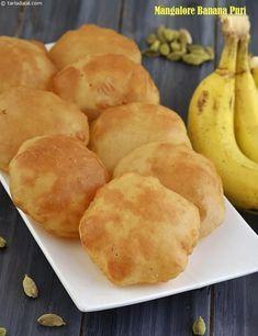 Mangalore Banana Puri, Mangalore Buns, Kele ki Puri