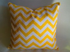 15 SALE on everything Chevron Decorative throw pillow by LivePlush, $18.00