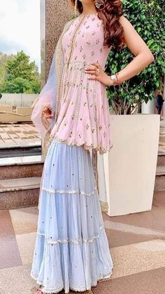 We aspire to create a platform that gives our customers a memorable shopping experience. Custom made and Worldwide shipping Available . Sharara Designs, Kurti Designs Party Wear, Lehenga, Anarkali, Wedding Dress, Indian Wedding Outfits, Indian Outfits, Indian Fashion Dresses, Dress Indian Style