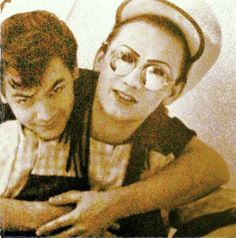 jon moss and boy george. Ive always had a thing for men that wear glasses. I don't know why people didnt like glasses back in the day.