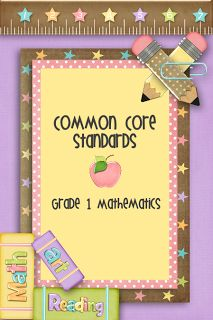Free Printable First Grade Common Core Standards
