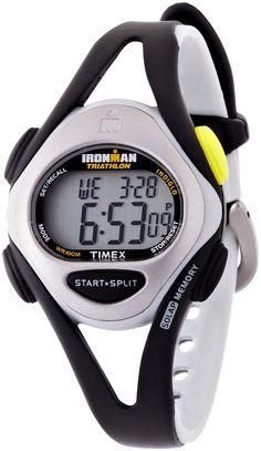Cheap Watches : Timex Women's T59201 Ironman Sleek 50-Lap Silver-Tone/Black Resin Strap Watch, Disclosure: Affiliate Link... $35.28