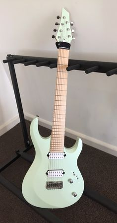 Kiesel Aries 7 String in Seafoam Green
