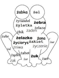 Rysunki z wyrazami Education Logo, Early Education, Early Childhood Education, Education Quotes, Kids Education, Primary Teaching, Teaching English, Polish Language, Speech Room