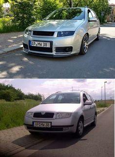 Fabia Antes y después
