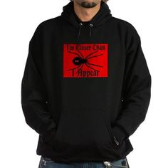 Black Widow Spider-Im Closer Than I Appear Hoodie