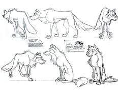 Balto (1995) - || CHARACTER DESIGN REFERENCES | Find more at https://www.facebook.com/CharacterDesignReferences if you're looking for: #line #art #character #design #model #sheet #illustration #best #concept #animation #drawing #archive #library #reference #anatomy #traditional #draw #development #artist #how #to #tutorial #conceptart #modelsheet #animal #animals #dog #wolf #fox #dogs