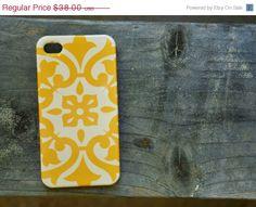 ON SALE Vintage Mustard Celtic iphone 4 snap on case. $19.00, via Etsy.