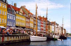 "Nyhavn is the original Copenhagen Harbor. Love seeing the Danes sip their beer and relax which is referred to as ""Hygge""!"