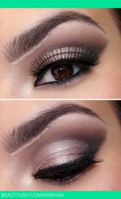 Boudoir Smokey. This is simple and beautiful make up.