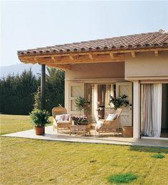 Exterior casa #cocinaspequeñasrusticas