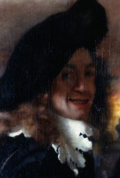 [ V ] Jan (Johannes) Vermeer - The Procuress (1656) - (Detail (Self-Portrait) | Flickr - Photo Sharing! Linda, do know if this Jan, or the other guy with the big paw.