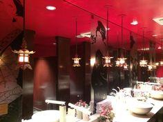 Restroom at Japanese restaurant