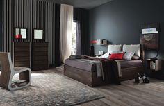 Camera da letto Altacorte Ecolab Grigio
