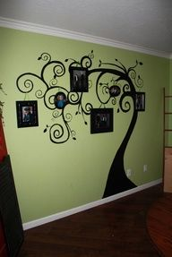 family tree painting on wall - Google Search