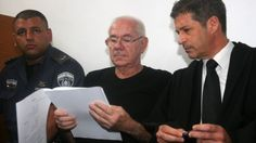 Former Judge Dan Cohen (center) with his attorney Eitan Maoz, at court in Tel Aviv, on July July 11, Tel Aviv, White Collar, Lawyers, Dan, Website, Phone, Telephone