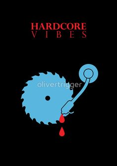'Hardcore Vibes' by olivertrigger. It's for everyone who like hard music! Hard Music, Tees, Movie Posters, Movies, 2016 Movies, T Shirts, Tee Shirts, Film Poster, Films