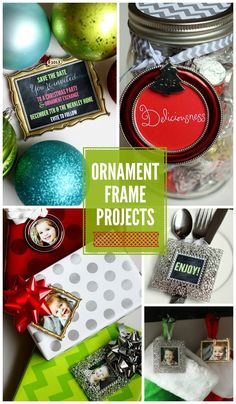 Ornament Frame Ideas