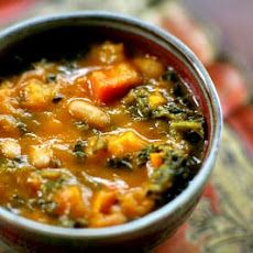 Kale and Roasted Vegetable Soup Recipe