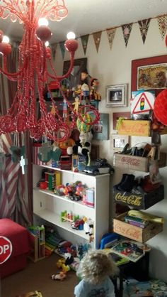 Vintage circus baby room - ready to upgrade to big boy room