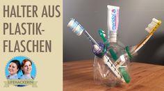 Multifunktionaler Halter aus PET-Flaschen I Plastikflaschen Upcycling I DIY