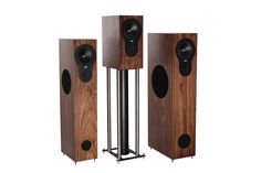Rega's startling new RX series, Rx1 bookshelf, compact RX3 floor standers and the biggest of the range, the RX5. Finished in black ash, walnut or cherry. purehifi.co.nz