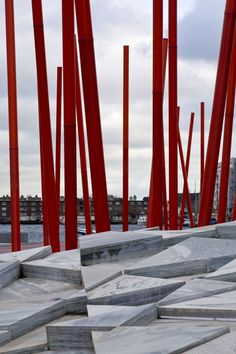 Grand Canal Square by Martha Schwartz Partners