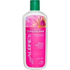 Aubrey Organics, Rosa Mosqueta Conditioner, Vibrant Hydration, All Hair Types, 11 fl oz (325 ml)