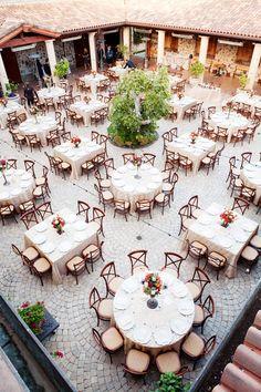 Janae Shields Photography - Ashley & Nick {Jacuzzi Family Vineyard}  square and circle tables