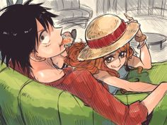 Luffy x Nami -One Piece