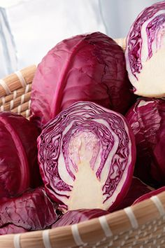Add Red Foods to Your Diet:  Not only will adding red foods to your diet make your plate more colorful and aesthetically pleasing, it can also help keep you healthy enough to live to 100! Cruciferous veggies like red cabbage are known to help protect against cancer, while beet juice contains nitrates that relax blood vessels.