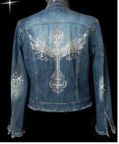 Cool Blue Jean Jacket.
