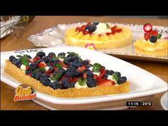 Receta dulce: tarta frutal