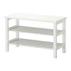 TJUSIG Bank mit Schuhablage IKEA