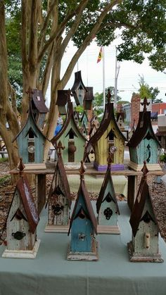 Posse.  Part of the Farmer's Market display in New Bern, NC, by Recycling is for the birds!