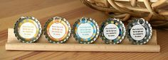 bottle cap zipper pulls for bags or pendants..awesome YW craft