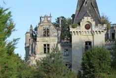 Château de la Mothe-Chandeniers, France.