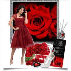 Red Valentine's Day  Dress