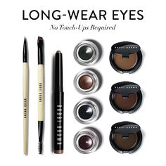 Bobbi's Long-Wear Eye Collection—everything you need if you're all about eyes.