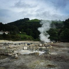 Sulfuric hot springs in Caldeiras on Sao Miguel in the Azores Azores, Plan Your Trip, 10 Days, Hot Springs, Traveling By Yourself, Travelling, Spa Water