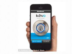 The Kevo deadbolt from Kwikset uses Bluetooth Low Energy and an app for your smartphone to allow you to unlock your door just by touching it. The Kevo smart lock package includes one deadbolt, one… Bluetooth Low Energy, Home Security Tips, New Business Ideas, Bob Vila, Door Locks, We Heart It, Smartphone, Vacation, Holiday