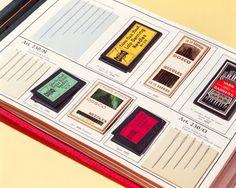 Needles & Pins sample book, DOSCO Company