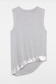 Free Foil Tank Top, grey marl, Zadig & Voltaire #stylingmrsoliver