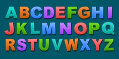 LEARN THE ALPHABET! Learn to write English Alphabet Letters!
